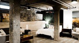 jakie lampy loftowe do sypialni w stylu industrialnym