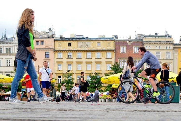 Forum Przestrzenie - kawa z widokiem na Wawel